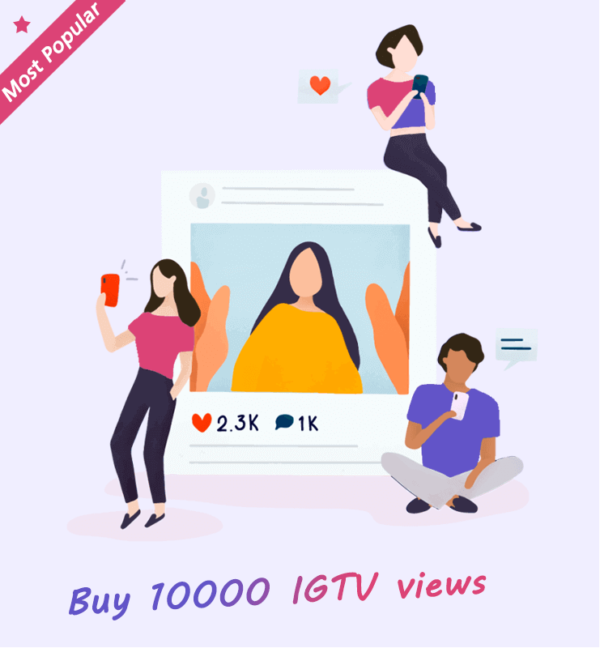 Buy 10000 IGTV Views