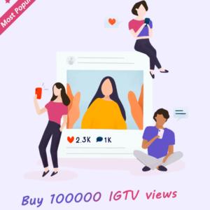 100000 IGTV Views