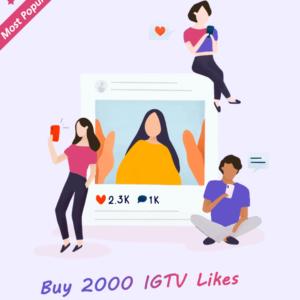 2000 IGTV Likes