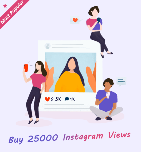 Buy 25000 Instagram Views