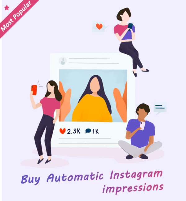 Buy Automatic Instagram impressions